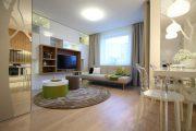 Фото 22 Современный дизайн однокомнатной квартиры 40 кв. метров: идеи зонирования и 80+ фото стильных проектов
