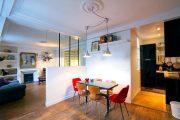 Фото 23 Современный дизайн однокомнатной квартиры 40 кв. метров: идеи зонирования и 80+ фото стильных проектов