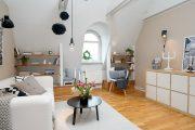 Фото 40 Интерьер однокомнатной квартиры: все тонкости современного дизайна и 80+ фото стильных реализаций