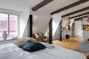 Фото 31 Современный дизайн однокомнатной квартиры 40 кв. метров: идеи зонирования и 80+ фото стильных проектов