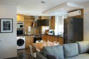 Фото 35 Современный дизайн однокомнатной квартиры 40 кв. метров: идеи зонирования и 80+ фото стильных проектов