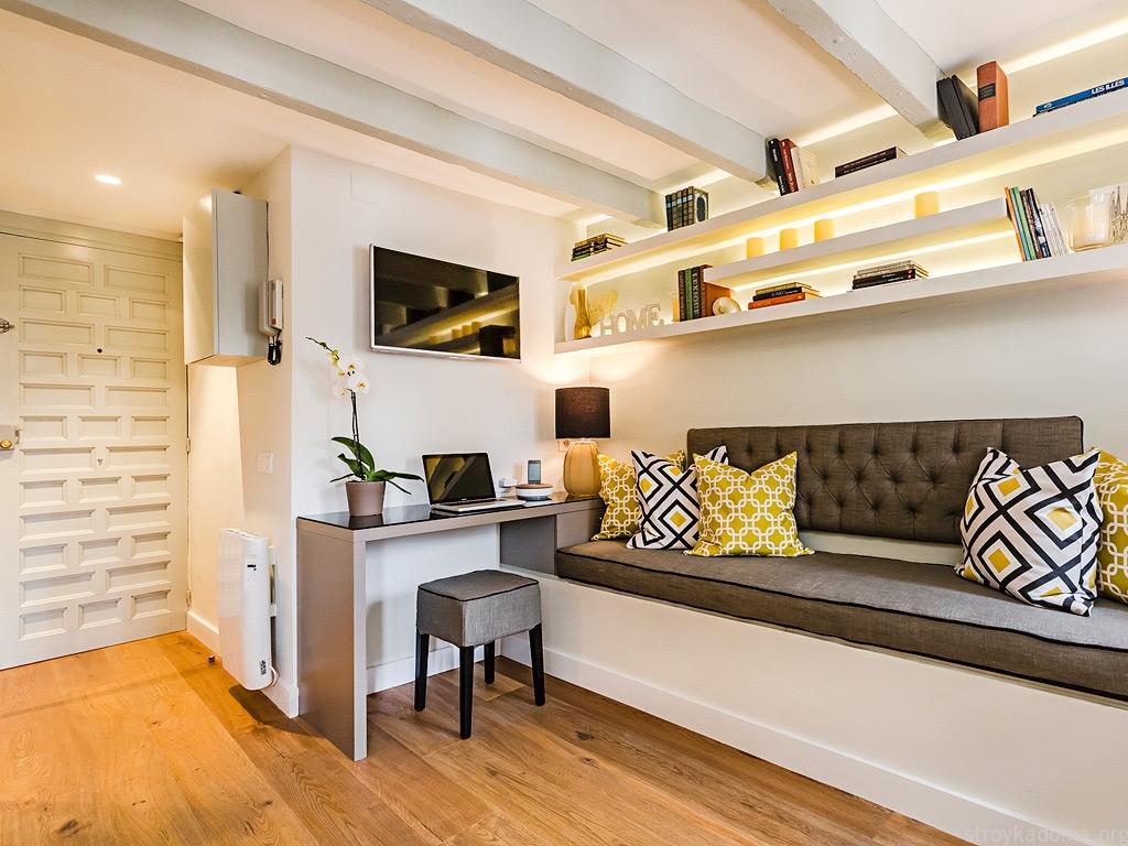 Идеи для ремонта однокомнатной квартиры 40 кв.м фото