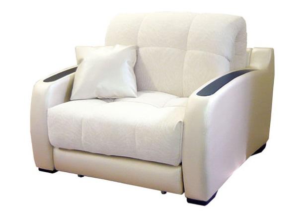 Стильное ортопедическое кресло-кровать в сложенном виде