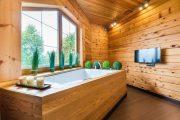 Фото 10 Отделка внутри деревянного дома: рекомендации по выбору материалов и 70 теплых и эстетичных решений