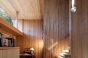 Фото 17 Отделка внутри деревянного дома: рекомендации по выбору материалов и 70 теплых и эстетичных решений