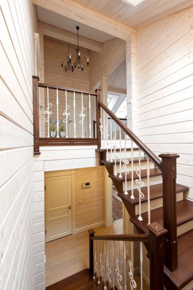 Отделка деревянного дома внутри: 70 шикарных идей своими руками