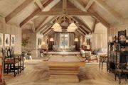 Фото 23 Отделка внутри деревянного дома: рекомендации по выбору материалов и 70 теплых и эстетичных решений