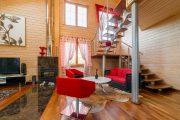 Фото 25 Отделка внутри деревянного дома: рекомендации по выбору материалов и 70 теплых и эстетичных решений