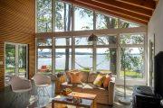 Фото 35 Отделка внутри деревянного дома: рекомендации по выбору материалов и 70 теплых и эстетичных решений