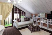 Фото 36 Отделка внутри деревянного дома: рекомендации по выбору материалов и 70 теплых и эстетичных решений