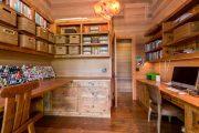 Фото 40 Отделка внутри деревянного дома: рекомендации по выбору материалов и 70 теплых и эстетичных решений