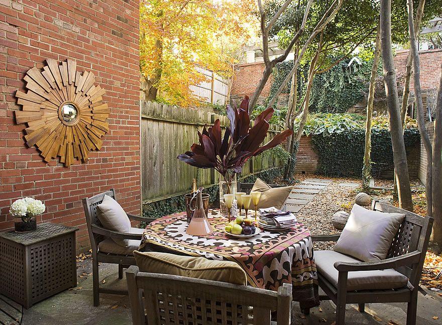 Фото двориков и их дизайн