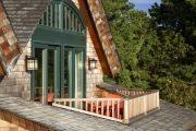 Фото 9 Дома с мансардой и гаражом: что нужно знать перед постройкой и 75+ лучших современных проектов