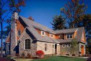 Фото 4 Дома с мансардой и гаражом: что нужно знать перед постройкой и 75+ лучших современных проектов