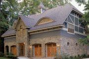 Фото 37 Дома с мансардой и гаражом: что нужно знать перед постройкой и 75+ лучших современных проектов