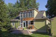 Фото 14 Дома с мансардой и гаражом: что нужно знать перед постройкой и 75+ лучших современных проектов