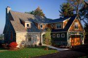Фото 21 Дома с мансардой и гаражом: что нужно знать перед постройкой и 75+ лучших современных проектов