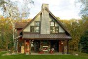 Фото 22 Дома с мансардой и гаражом: что нужно знать перед постройкой и 75+ лучших современных проектов