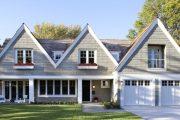 Фото 24 Дома с мансардой и гаражом: что нужно знать перед постройкой и 75+ лучших современных проектов