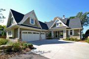 Фото 30 Дома с мансардой и гаражом: что нужно знать перед постройкой и 75+ лучших современных проектов