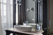 Фото 2 Накладная раковина на столешницу: 75+ воплощений эргономики и эстетики в ванной комнате