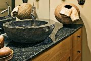Фото 11 Накладная раковина на столешницу: 75+ воплощений эргономики и эстетики в ванной комнате