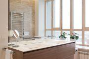 Фото 17 Накладная раковина на столешницу: 75+ воплощений эргономики и эстетики в ванной комнате