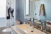 Фото 21 Накладная раковина на столешницу: 75+ воплощений эргономики и эстетики в ванной комнате