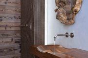 Фото 26 Накладная раковина на столешницу: 75+ воплощений эргономики и эстетики в ванной комнате