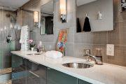 Фото 27 Накладная раковина на столешницу: 75+ воплощений эргономики и эстетики в ванной комнате