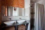Фото 32 Накладная раковина на столешницу: 75+ воплощений эргономики и эстетики в ванной комнате