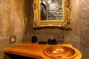 Фото 33 Накладная раковина на столешницу: 75+ воплощений эргономики и эстетики в ванной комнате