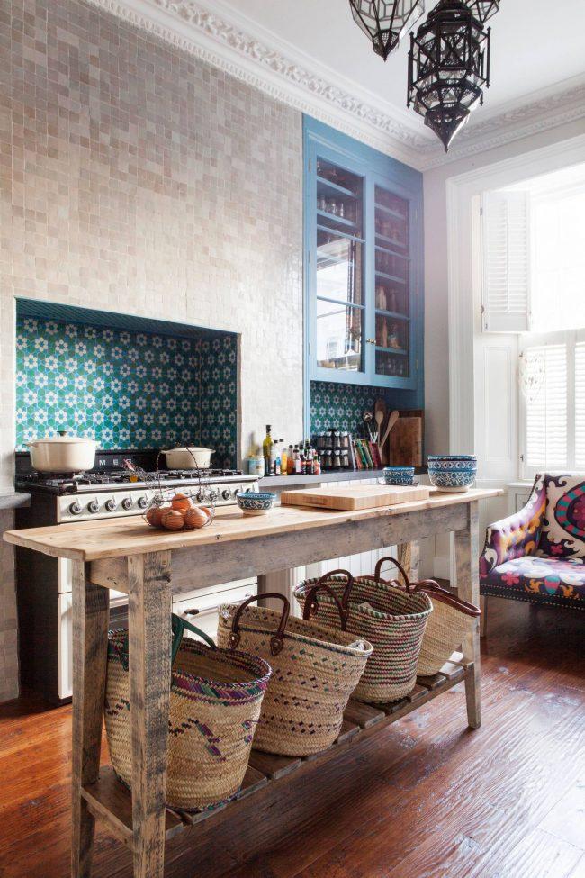 Плетенные корзины придадут вашему интерьеру чувства домашнего уюта