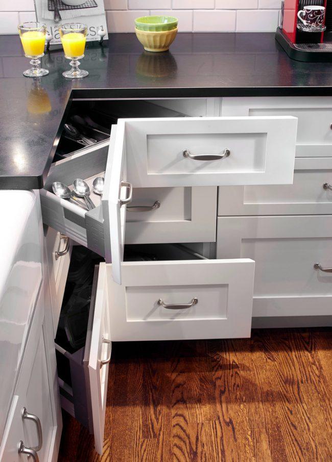 Функциональность кухонной площади должна быть продумана до мелочей