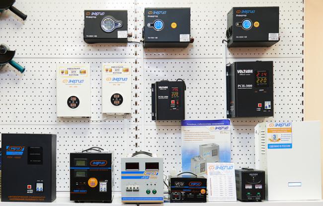 Стабилизаторы напряжения Энергия известны на российском электротехническом рынке более 10 лет