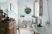 Фото 5 Ванная комната в стиле прованс: 80+ элегантных идей и обзор лучших интерьерных тенденций