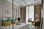 Фото 3 Занавески в спальню: обзор трендовых новинок и 85+ эстетически совершенных идей для комнаты