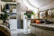 Фото 40 Занавески в спальню: обзор трендовых новинок и 85+ эстетически совершенных идей для комнаты