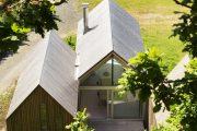 Фото 3 Оригинальные проекты дома с баней под одной крышей: все о реализации и 65+ практичных и надежных вариантов