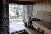 Фото 18 Оригинальные проекты дома с баней под одной крышей: все о реализации и 65+ практичных и надежных вариантов