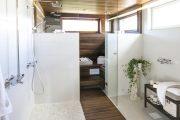 Фото 29 Оригинальные проекты дома с баней под одной крышей: все о реализации и 65+ практичных и надежных вариантов