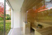 Фото 32 Оригинальные проекты дома с баней под одной крышей: все о реализации и 65+ практичных и надежных вариантов