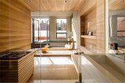 Фото 33 Оригинальные проекты дома с баней под одной крышей: все о реализации и 65+ практичных и надежных вариантов