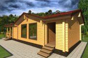 Фото 39 Оригинальные проекты дома с баней под одной крышей: все о реализации и 65+ практичных и надежных вариантов
