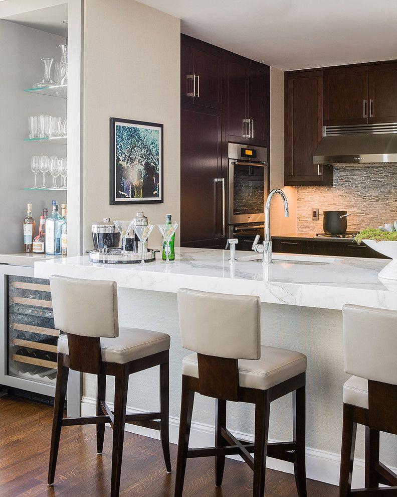 барные стойки для кухни 70 фото лучших реализаций в интерьере
