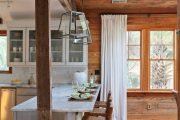Фото 1 Барная стойка для кухни: материалы, особенности освещения и 75 элегантных интерьерных воплощений