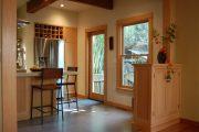 Фото 19 Барная стойка для кухни: материалы, особенности освещения и 75 элегантных интерьерных воплощений