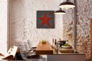 Фото 23 Барная стойка для кухни: материалы, особенности освещения и 75 элегантных интерьерных воплощений