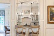 Фото 37 Барная стойка для кухни: материалы, особенности освещения и 75 элегантных интерьерных воплощений