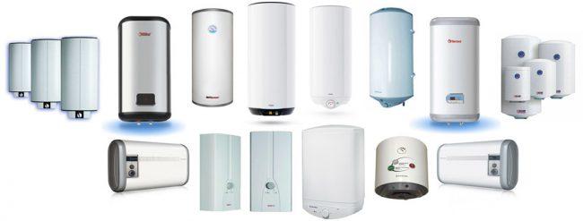 Визуально все водонагреватели практически все одинаковые, но устройство у всех разное